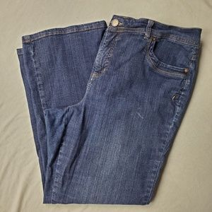 Just My Size Blue Bootcut Jeans 20W
